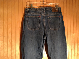 Size 10 St Johns Bay Denim Blue Jeans Boot Cut Great Condition image 4