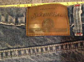 Size 10 St Johns Bay Denim Blue Jeans Boot Cut Great Condition image 6
