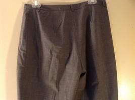 Size 12  Gray  J McLaughlin Dress Pants Made in USA image 4