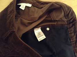 Size 16 Northern Isles Brown Casual Pants 98 Percent Cotton 2 Percent Spandex image 9