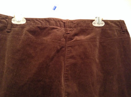 Size 16 Northern Isles Brown Casual Pants 98 Percent Cotton 2 Percent Spandex image 6