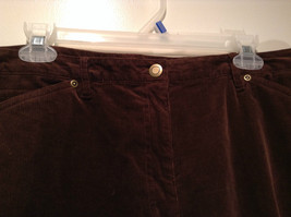 Size 16 Northern Isles Brown Casual Pants 98 Percent Cotton 2 Percent Spandex image 7