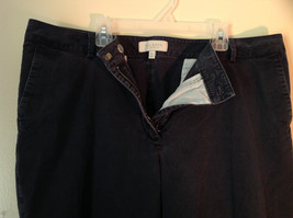 Size 16P Talbots Petites Heritage Boot Pants Zipper and Clasp Closure image 2
