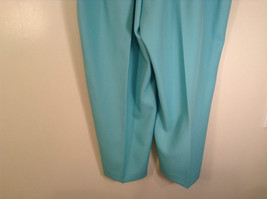 Size 20W Stretchy Waist Alfred Dunner Blue Pants Side Pockets Made in USA image 6