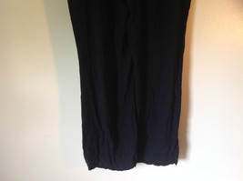 Size 18W Daisy Fuentes Black Pants Tied Waist Light Material 100 Percent Rayon image 5