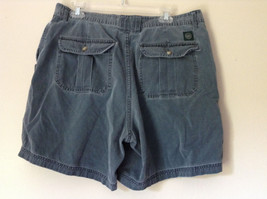 Size 38 Casual Blue Shorts by St. Johns Bay 100 Percent Cotton Front Back Pocket image 5
