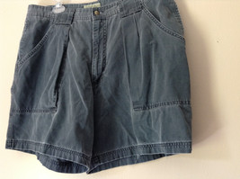 Size 38 Casual Blue Shorts by St. Johns Bay 100 Percent Cotton Front Back Pocket image 4