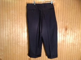 Size 40 Black Pleated Dress Pants Tags Removed Measurements Below image 4