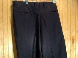 Size 40 Black Pleated Dress Pants Tags Removed Measurements Below image 5