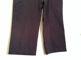 Size 40 by 30 Tommy Hilfiger Plus Size 100% Cotton Dark Blue Black Casual Pants image 3