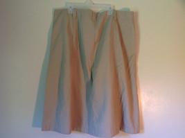 Size 18 White Stag Khaki Colored Skirt 60 Percent Cotton 40 Percent Polyester image 3