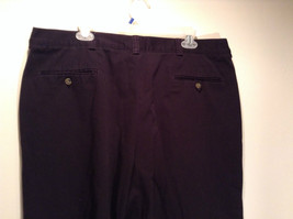 Size 40 by 30 Tommy Hilfiger Plus Size 100% Cotton Dark Blue Black Casual Pants image 4