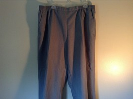 Size 22WP Drapers and Damon Light Blue Elastic Waistband Petite Pants image 2
