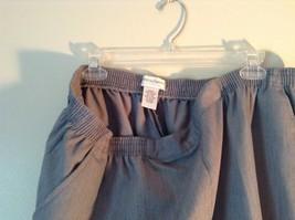 Size 22WP Drapers and Damon Light Blue Elastic Waistband Petite Pants image 4