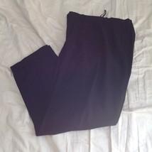 Size 6 DKNY Black Dress Pants 100 Percent Wool Cuffed Bottom image 6