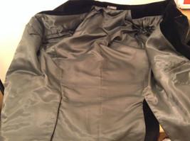 Size 42R 100 Percent Cotton Apt 9 Fully Lined Black Suit Jacket Velvet Fabric image 9