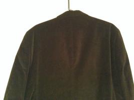 Size 42R 100 Percent Cotton Apt 9 Fully Lined Black Suit Jacket Velvet Fabric image 5