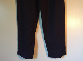 Size 6 Petite Black Sweat Pants No Brand Tag image 3