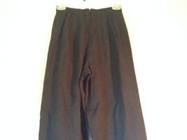 Size 6 Petite Black Sweat Pants No Brand Tag image 2