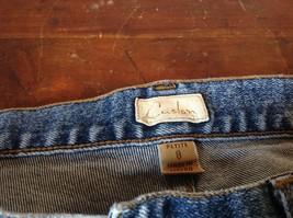 Size 8 Petite Denim Jeans Blue Caslon Front Back Pockets Zipper Button Closure image 7