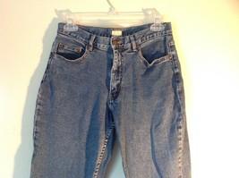 Size 8 Petite Denim Jeans Blue Caslon Front Back Pockets Zipper Button Closure image 2