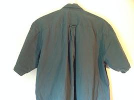 Size XL John Ashford Green Collared Short Sleeve Collared Button Down Shirt image 4