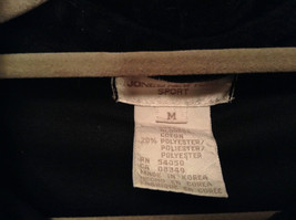 Size M Red Black Green Plaid Long Sleeve Dress Jones New York Metal Buttons image 6