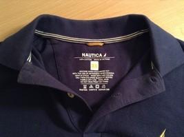 Size XS Nautica Dark Blue 100 Percent Cotton Short Sleeve Collared Polo Shirt image 6