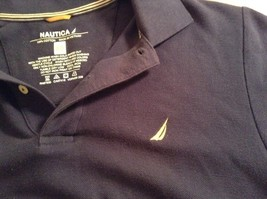 Size XS Nautica Dark Blue 100 Percent Cotton Short Sleeve Collared Polo Shirt image 7