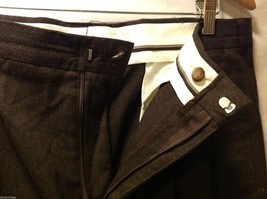 Slates Mens Dark Brown Dress Pants, Size W35 L30 image 5