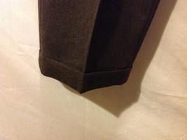 Slates Mens Dark Brown Dress Pants, Size W35 L30 image 4