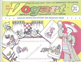 vogart transfer @# 717 mexican motifs for towels - $5.00