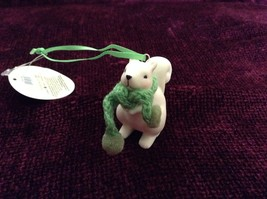 Small Porcelain Squirrel Figurines Different Colored Scarves Sold Separately image 4