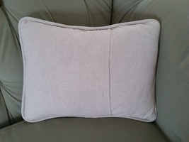 Spring Harbinger Pussy Willow Tan Beige Canvas Porch Pillow Forest Lane Dept 56 image 4