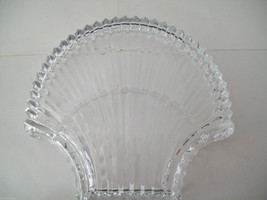 Stunning large lead crystal sea shell shaped candy dish image 7