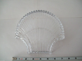 Stunning large lead crystal sea shell shaped candy dish image 8