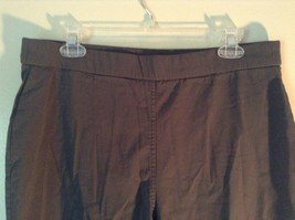 Style and Company Black Stretch Casual Pants Size 1X image 3