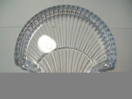 Stunning large lead crystal sea shell shaped candy dish image 4