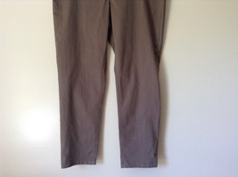 Style and Company Brown Casual Pants Stretchy Waist Back Pockets Size XL image 2