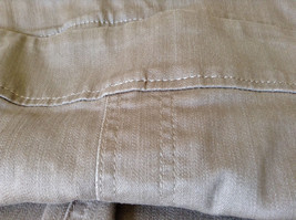 Style and Company Brown Casual Pants Stretchy Waist Back Pockets Size XL image 10