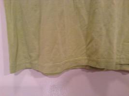 Talbots Short Sleeve Plain Light Green Citrus Green T Shirt Size Medium image 3