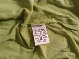 Talbots Short Sleeve Plain Light Green Citrus Green T Shirt Size Medium image 8