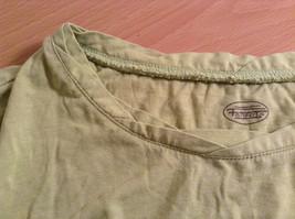 Talbots Short Sleeve Plain Light Green Citrus Green T Shirt Size Medium image 7