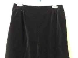 Susan Graver 100 Percent Cotton Black Casual Pants Size Large 14 to 16 image 2