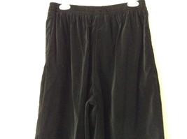 Susan Graver 100 Percent Cotton Black Casual Pants Size Large 14 to 16 image 3