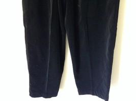 Susan Graver 100 Percent Cotton Black Casual Pants Size Large 14 to 16 image 4