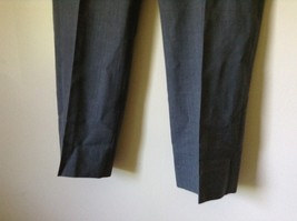 Tailored Gray Pleated Front Dress Pants 100 Percent Wool Measurements Below image 3