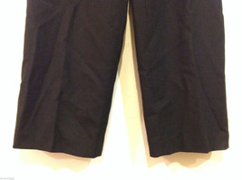 Talbots Plain Black 100% Wool Pants Fully Lined NO Pockets Size 12 Made in Japan image 5