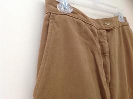 Tan Longer Length 4 Pocket Skirt Button Zipper Closure Jones New York Size 10 image 4