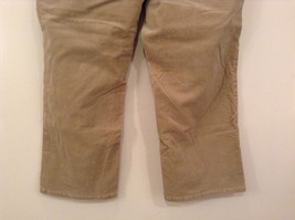 Tan L A Blues Velvet Jeans Size 18WS Zipper and Button Closure Pockets image 6